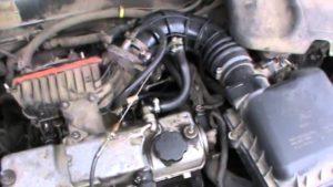 Провал при плавном нажатии на педаль газа